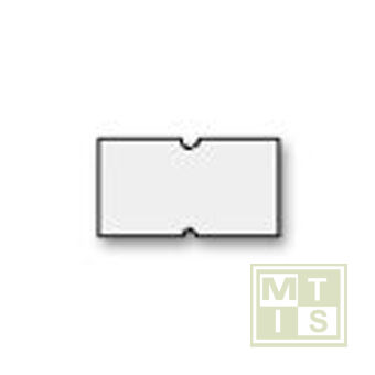 Etiket Model:979 21x12 Fluor Oranje permanent (per 50.000st.)