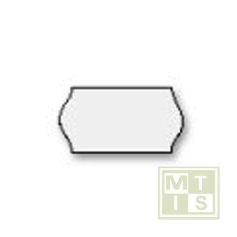 Etiket (semi-permanent) 22x12 (per 63.000st.)