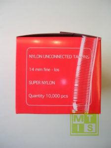 Ridderspoor Textielpin Vulling Fine 15mm Redbox (per 10.000st.)
