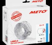 Prijstang Meto Classic L 1932 32x19mm Etiket
